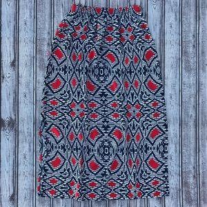 Soprano Geometric Midi Skirt